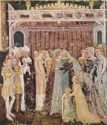 TOMMASO DA MODENA The Departure of St Ursula (mk08) oil painting artist