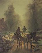 constant troyon On the Way to Market (san05) oil painting picture wholesale