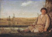Alexei Venezianov Sleeping Shepherd Boy (mk22) oil