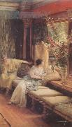 Alma-Tadema, Sir Lawrence Vain Courtship (mk24) oil painting picture wholesale