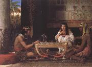 Alma-Tadema, Sir Lawrence Egyptian Chess Players (mk23) oil painting picture wholesale