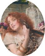 Alma-Tadema, Sir Lawrence Bacchante (mk23) oil painting picture wholesale