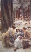 Alma-Tadema, Sir Lawrence Thermae Antoninianae (mk23) oil painting picture wholesale
