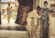 Alma-Tadema, Sir Lawrence The Frigidarium (mk24) oil painting picture wholesale