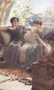 Alma-Tadema, Sir Lawrence Unwelcome Confidence (mk23) oil painting picture wholesale