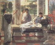 Alma-Tadema, Sir Lawrence Catullus Reading his  Poems at Lesbia's House (mk23) oil painting picture wholesale