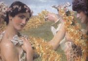 Alma-Tadema, Sir Lawrence When Flowers Return (mk23) oil painting picture wholesale