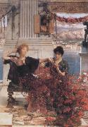 Alma-Tadema, Sir Lawrence Love's Jewelled Fetter (mk23) oil painting picture wholesale