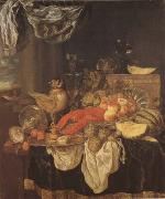 BEYEREN, Abraham van Still Life with Lobster (mk08) oil painting picture wholesale
