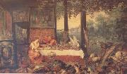 BRUEGHEL, Jan the Elder Sense of Taste (mk14) oil painting picture wholesale