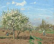 Camille Pissarro Orchard in  Bloom,Louveciennes (nn02) oil painting picture wholesale