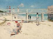 Charles conder Holiday at Mentone (nn02) oil
