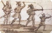 Claude Lorrain Four Archers (mk17) oil painting picture wholesale