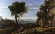 Claude Lorrain Landscape with David and the Three Heroes (mk17) oil painting picture wholesale