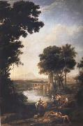 Claude Lorrain The Finding of the Infant Moses (mk17) oil painting picture wholesale
