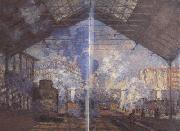 Claude Monet Gare Saint-Lazare (nn02) oil painting picture wholesale