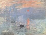 Claude Monet Sunrise (nn02) oil painting picture wholesale