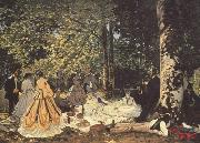 Claude Monet Dejeuner sur l'herbe(study) (nn02) oil painting picture wholesale