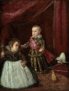 Diego Velazquez Prince Baltasar Carlos with a Dwarf (df01) oil painting picture wholesale