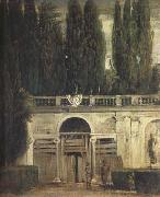 Diego Velazquez Villa Medici in Rome (Facade of the Grotto-Logia) (df01) oil painting picture wholesale