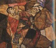 Egon Schiele Agony (mk20) oil painting picture wholesale