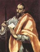 El Greco St Paul (df01) oil painting picture wholesale