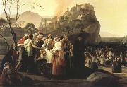 Francesco Hayez The Refugees of Parga (mk22) oil painting artist