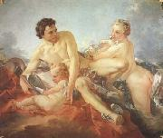 Francois Boucher The Education of Amor (mk08) oil painting picture wholesale