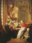 Francois Boucher The Breakfast (mk08) oil painting picture wholesale