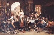 Frans Snyders Joachim Antonisz Uytewael Kitchen Scene (mk14) oil painting artist