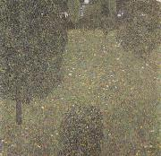 Gustav Klimt Landscape Garden (Meadow in Flower) (mk20) oil painting picture wholesale