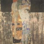 Gustav Klimt The Three Ages of Woman (mk20) oil painting picture wholesale
