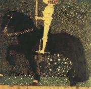 Gustav Klimt Life is a Struggle (The Golden Knight) (mk20) oil painting artist