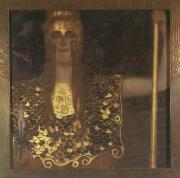 Gustav Klimt Pallas Athene (mk20) oil painting picture wholesale