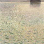 Gustav Klimt Island in Lake Atter (mk20) oil painting picture wholesale