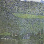 Gustav Klimt Unterach on Lake Atter (mk20) oil painting picture wholesale