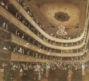 Gustav Klimt Auditorium of the old Burgtheater (mk20) oil painting picture wholesale