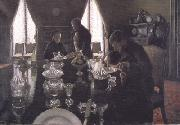 Gustave Caillebotte Luncheon (nn02) oil painting picture wholesale