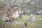 James Charles The Picnic (nn02) oil painting picture wholesale