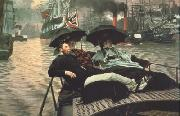 James Tissot The Thames (nn01) oil painting picture wholesale