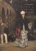 James Tissot The Return From the Boating Trip (nn01) oil painting picture wholesale
