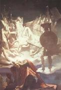 Jean Auguste Dominique Ingres The Dream of Ossian (mk10) oil painting picture wholesale