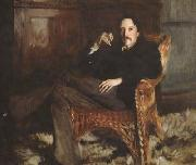 John Singer Sargent Robert Louis Stevenson (mk18) oil painting picture wholesale
