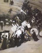 John Singer Sargent Rehearsal of the Pasdeloup Orchestra at the Cirque d'Hiver (mk18) oil painting picture wholesale