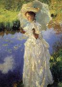 John Singer Sargent A Morning Walk (nn02) oil painting picture wholesale