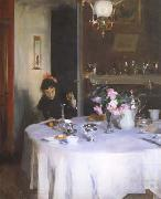 John Singer Sargent The Breakfast Table (mk18) oil painting picture wholesale