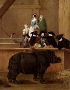 LONGHI, Pietro The Rhinoceros (mk08) oil painting picture wholesale