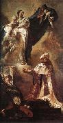PIAZZETTA, Giovanni Battista The Virgin Appearing to St Philip Neri a oil painting picture wholesale