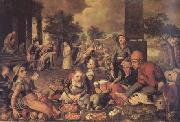 Pieter Aertsen Christ and the Adulteress (mk14) oil painting picture wholesale