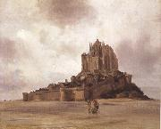 Theodore Gudin Mont-Saint-Michel (mk22) oil painting picture wholesale